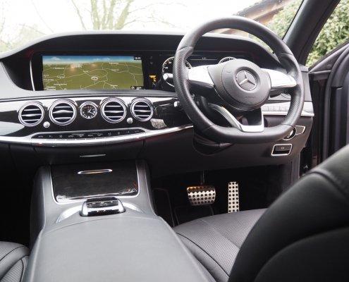 Somerset Exec Travel - Mercedes Benz S-Class Cockpit